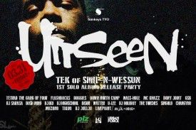 Unseen × TEK of SMIF-N-WESSUN 1st SOLO ALBUM PARTY