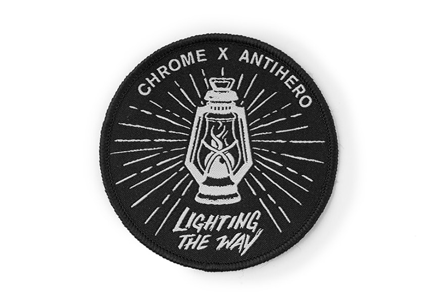 ANTIHERO × CHROME Patch