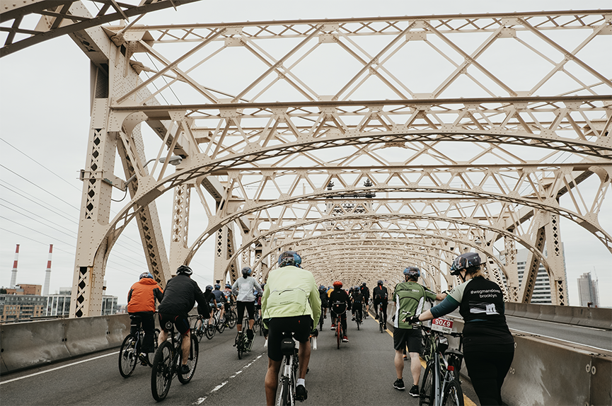 FIVE BORO BIKE TOUR 2018